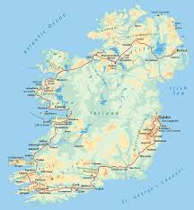 Dingle Ireland Map Cycling Unlimited