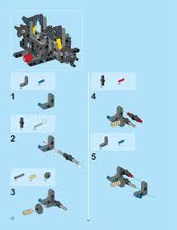 lego mini cooper instructions technicbricks un official building instructions