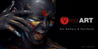 red art photography art photography theme by designthemes