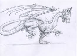 disturbed dragon drawing cloudsgirl7 deviantart
