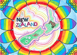 Children S Map Of The World by New Zealand Cartographic Society New Zealand Children U0027s World