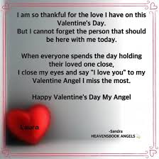 A Happy Valentine Will The by Happy Valentines Day From Angel Laura