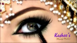 beautiful eye makeup by kashee