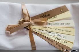 idee menu mariage l égérie du bonheur créatrice d émotions taupe kraft et
