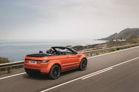 land rover evoque black convertible 2016 range rover evoque convertible review gtspirit