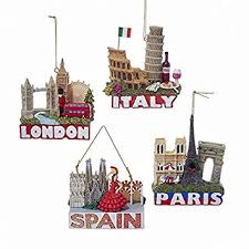 europe traveler city ornaments italy