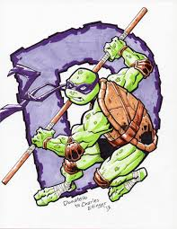 teenage mutant ninja turtles donatello by charlesettinger on