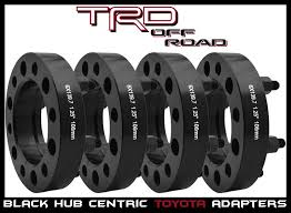 2000 toyota tundra accessories 4 pc toyota 1 25 hub centric wheel spacers tacoma tundra