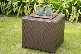 rattan coffee table outdoor glass top outdoor coffee table outdoor designs
