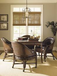Tommy Bahama Dining Room Set Bal Halbour 5 Piece Marco Island Game Table Set With Rum Runner Chairs