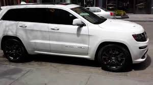 jeep wheels white white 2014 srt8 jeep black package youtube