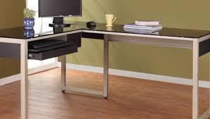 idabel dark brown wood modern desk with glass top memorable sample of raw wood desk in standing desk like cream