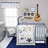 Rock N Roll Crib Bedding Rock N Roll 4 Bedding Set Crib Bedding Sets