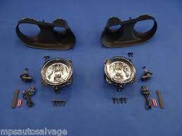2003 04 mustang cobra fog light bezel kit 2003 2004 ford mustang cobra fog light pair lh rh bezel bulb harness