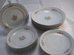 mikasa china 202 dinnerware set bowls sausers