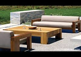 solid teak wood outdoor furniture by marmol radziner u2013 woodwork