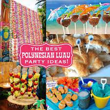 party ideas for the best polynesian luau party ideas for a tiki celebration