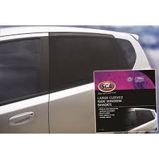sca window shade side large curved black supercheap auto