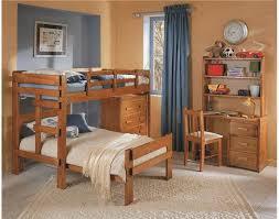 Woodcrest Heartland LShaped Bunk Bed CC Woodcrest - L shaped bunk bed