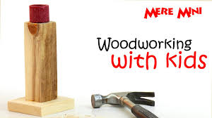 kids u0027 woodworking project candlestick mere mini youtube