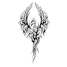 48 tribal phoenix tattoos ideas
