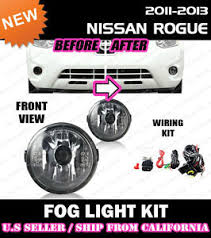 for nissan rogue select 11 15 fog light driving lamp kit w switch