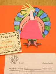 thanksgiving report buzzing about second grade thanksgiving turkey projects