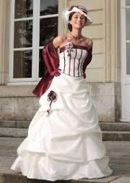 robe de mariã e pas cher en couleur robes de mariée 2 couleurs idée mariage