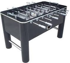 classic sport foosball table classic sport 788 shiny black soccer game foosball table