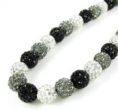 black beaded rope necklace images Macram bead rope chains and necklaces with onyx and rhinestones jpg