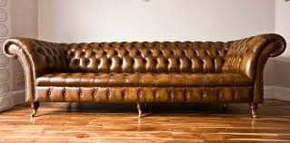 Distressed Chesterfield Sofa Awesome Hancock Tufted Distressed Saddle Brown Italian