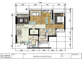 Floor Plan Layout Dash U0027in Interior Hand Drawn Designs Floor Plan Layout Interior
