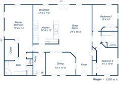 Metal Shop Homes Floor Plans Like This Floor Plan For A 30x60 Size Homes Pinterest House