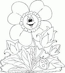 spring flowers coloring pages 44 free coloring book