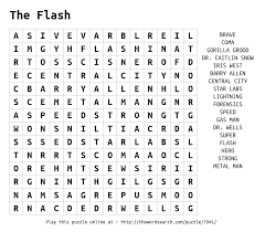 download word search on the flash
