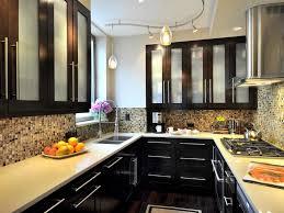 L Shaped Kitchen Island Designs Small Kitchen Kitchens Wonderful Apartment Kitchen Design On