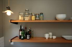 kitchen contemporary rolling cabinet shelves kitchen wall
