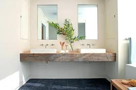 Bathroom Sink Shelves Floating Floating Sink Small Cloakroom With Bespoke Oak Floating Sink Shelf
