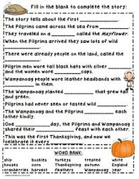 thanksgiving day activity companion pack writing