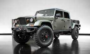jeep jeep crew chief 715 concept pictures photo gallery car and driver