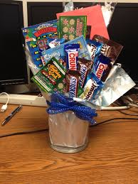 Candy Gift Basket Lottery And Candy Gift Basket Idea
