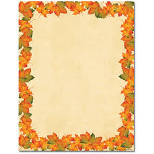 thanksgiving border paper 100 sheet variety pack two great coupon