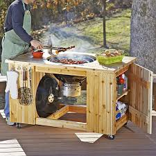diy grill table plans summer of cedar outdoor plan downloadable super bundle grill table