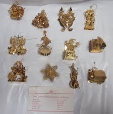 amazon com danbury mint 1997 23kt gold christmas ornament