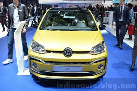 volkswagen up yellow vw up facelift launched in europe