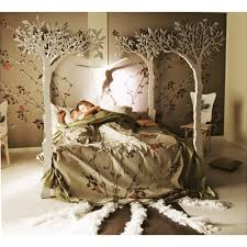 under the apple tree canopy bed modern romantic scandinavian