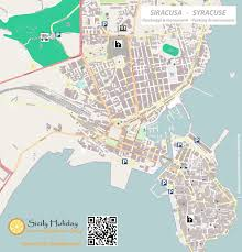 Sicily Italy Map by Parking In Syracuse Sicily Holiday Com