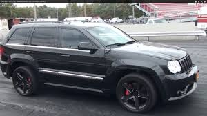 turbo jeep srt8 2010 jeep cherokee srt8 supercharger 1 4 mile drag racing timeslip