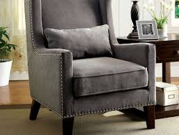 Patterned Accent Chair Leatherette U0026 Chrome Steel Accent Chair Caravana Furniture