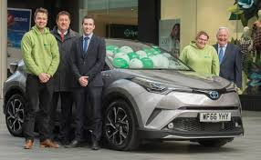 lexus exeter uk princesshay and children u0027s hospice south west launch charity car